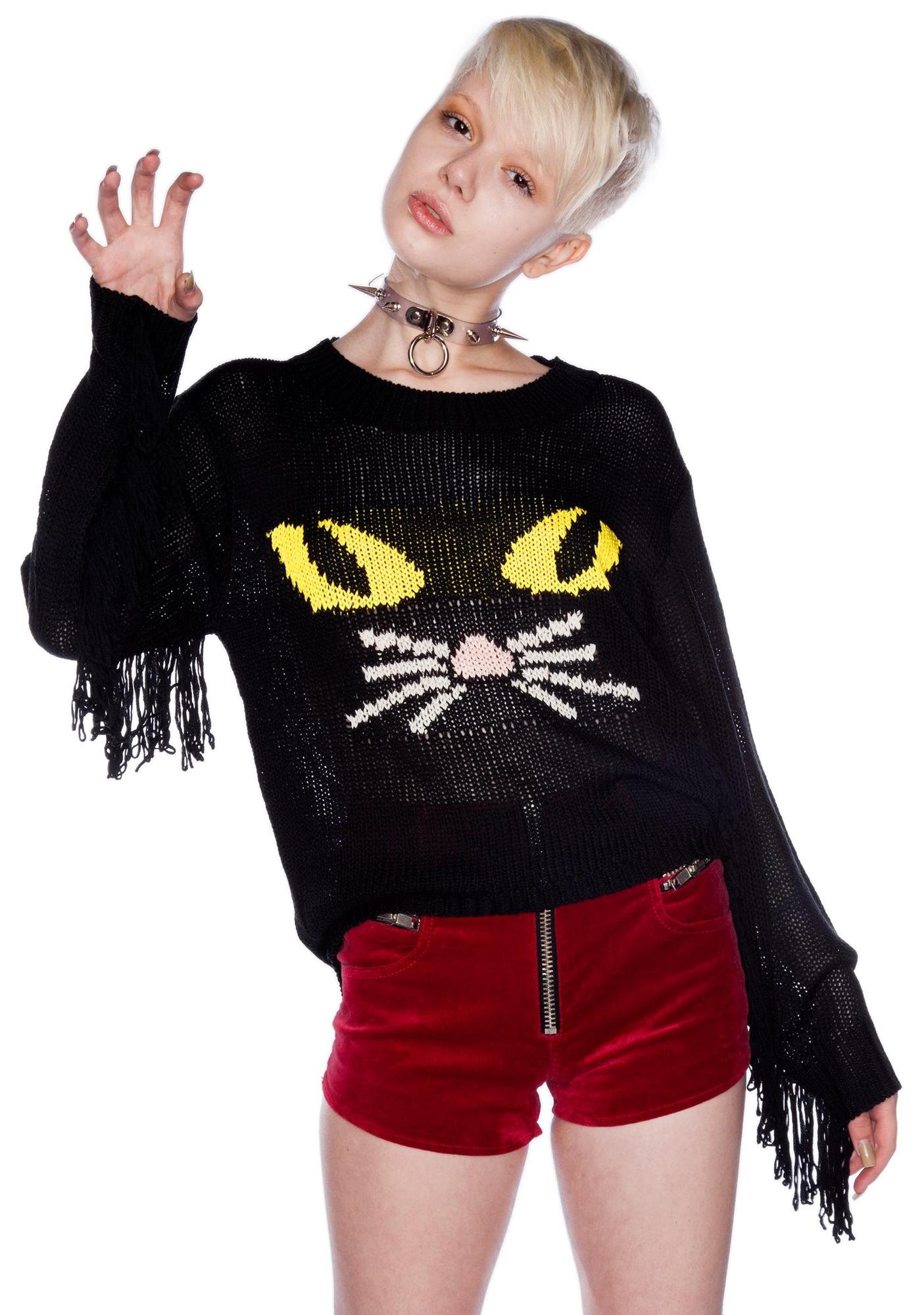 UNIF Meow Sweater