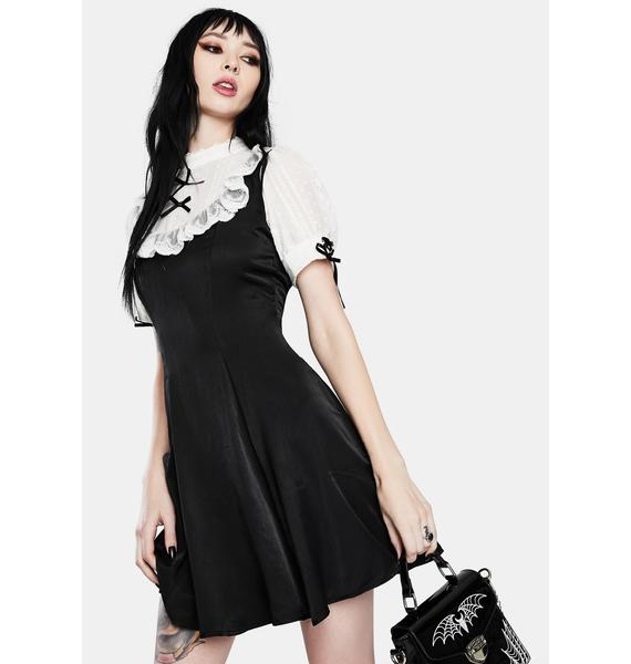 Dark In Love Gothic Lolita Doll Mini Dress