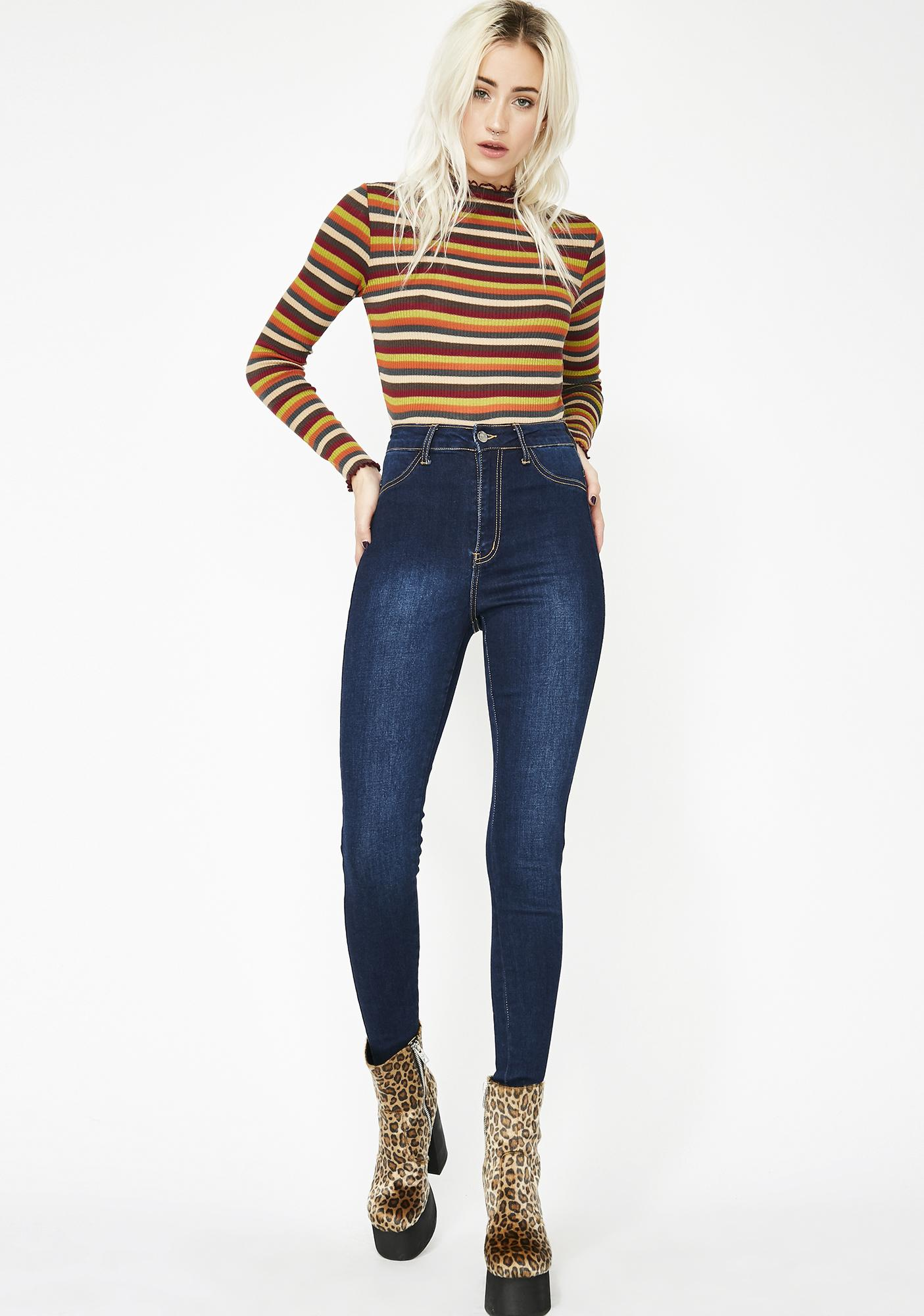 Slayin' Daily Ultra High-Rise Jeans