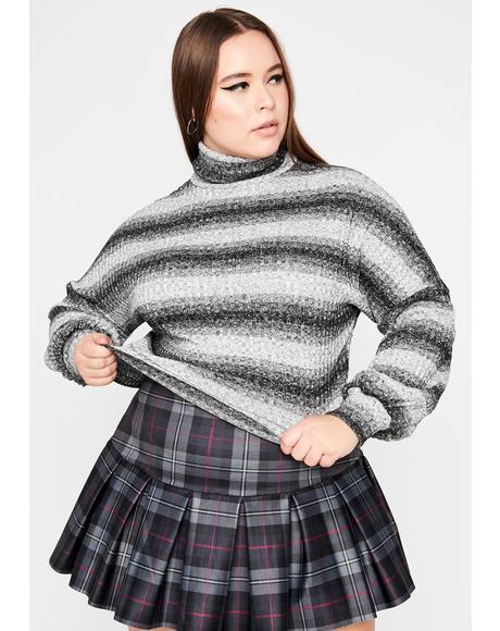 Legit True Sparkle Turtleneck Sweater