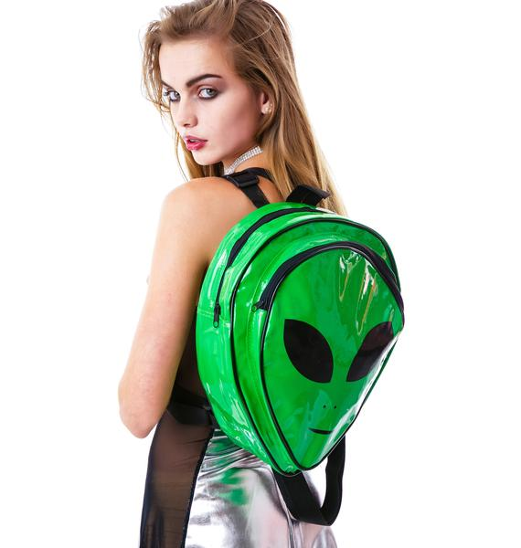 O Mighty OG Gangsta Alien Backpack