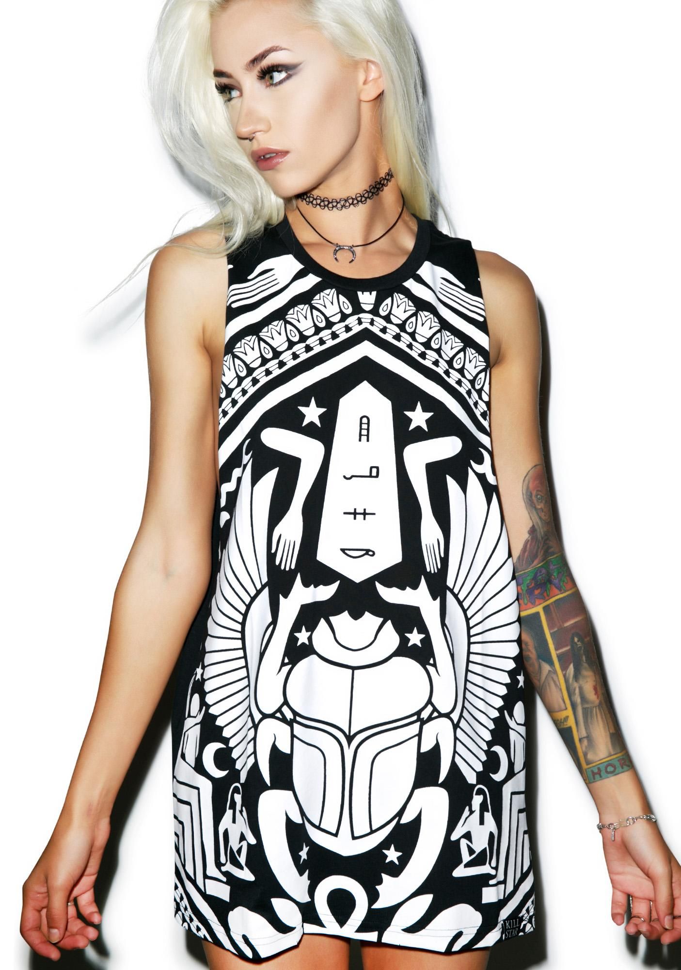Killstar Scarab Muscle Tank