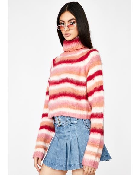 Baby Totally Busted Stripe Sweater