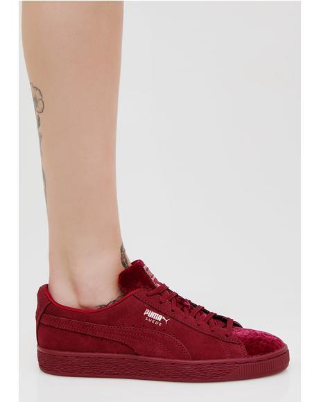 Suede Classic Velvet Sneakers
