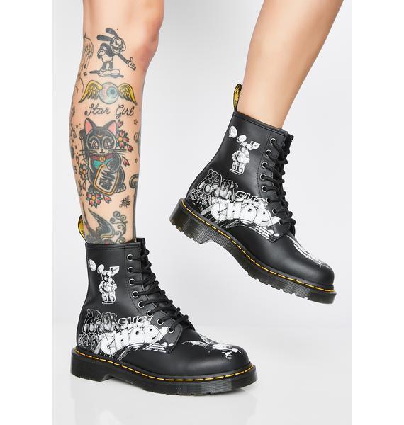 Dr. Martens 1460 Rick Griffin Boots