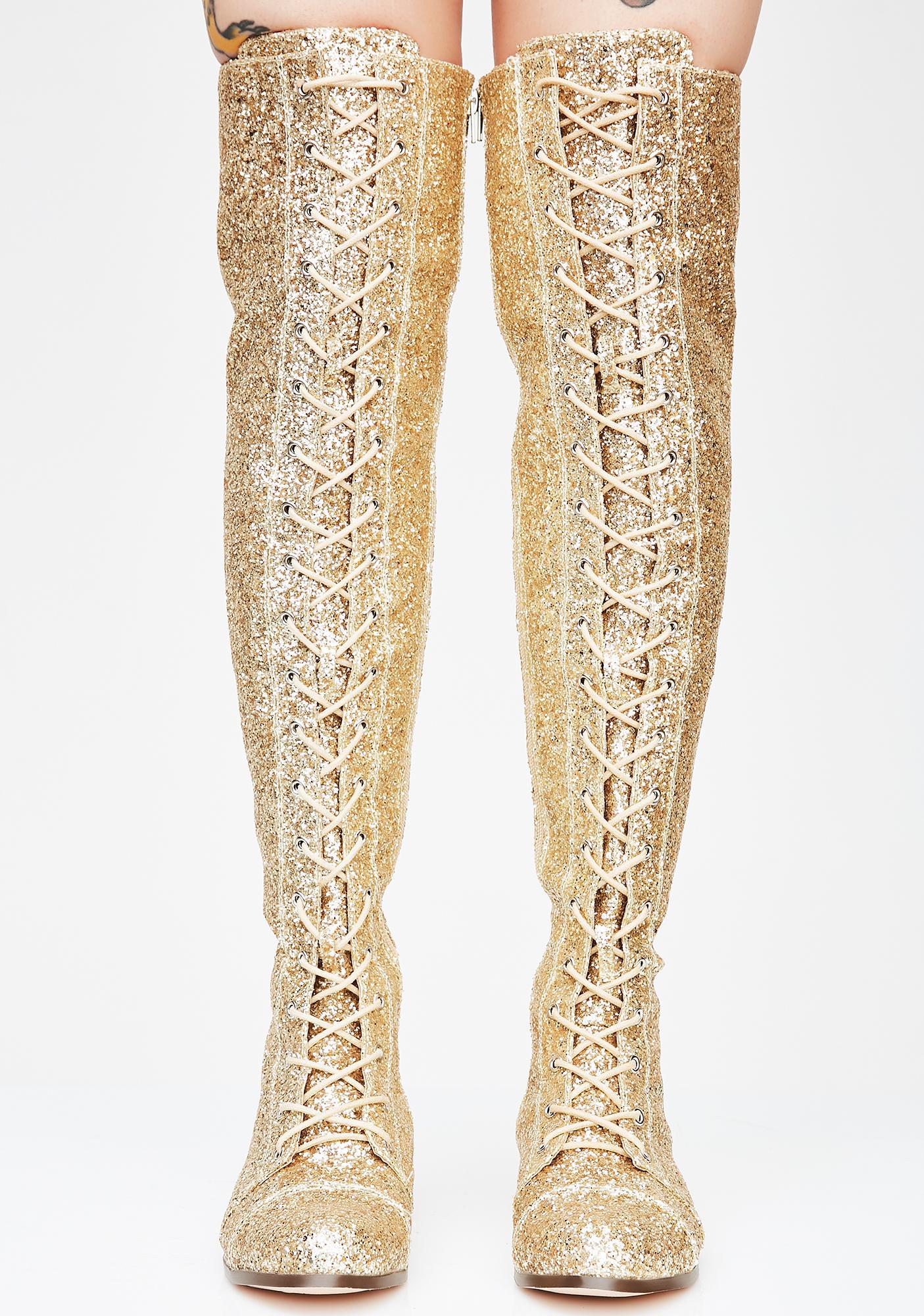 Millennial Diva Knee High Boots