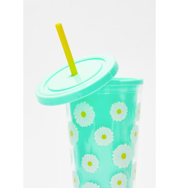 Fresh Picked Daisies Tumbler