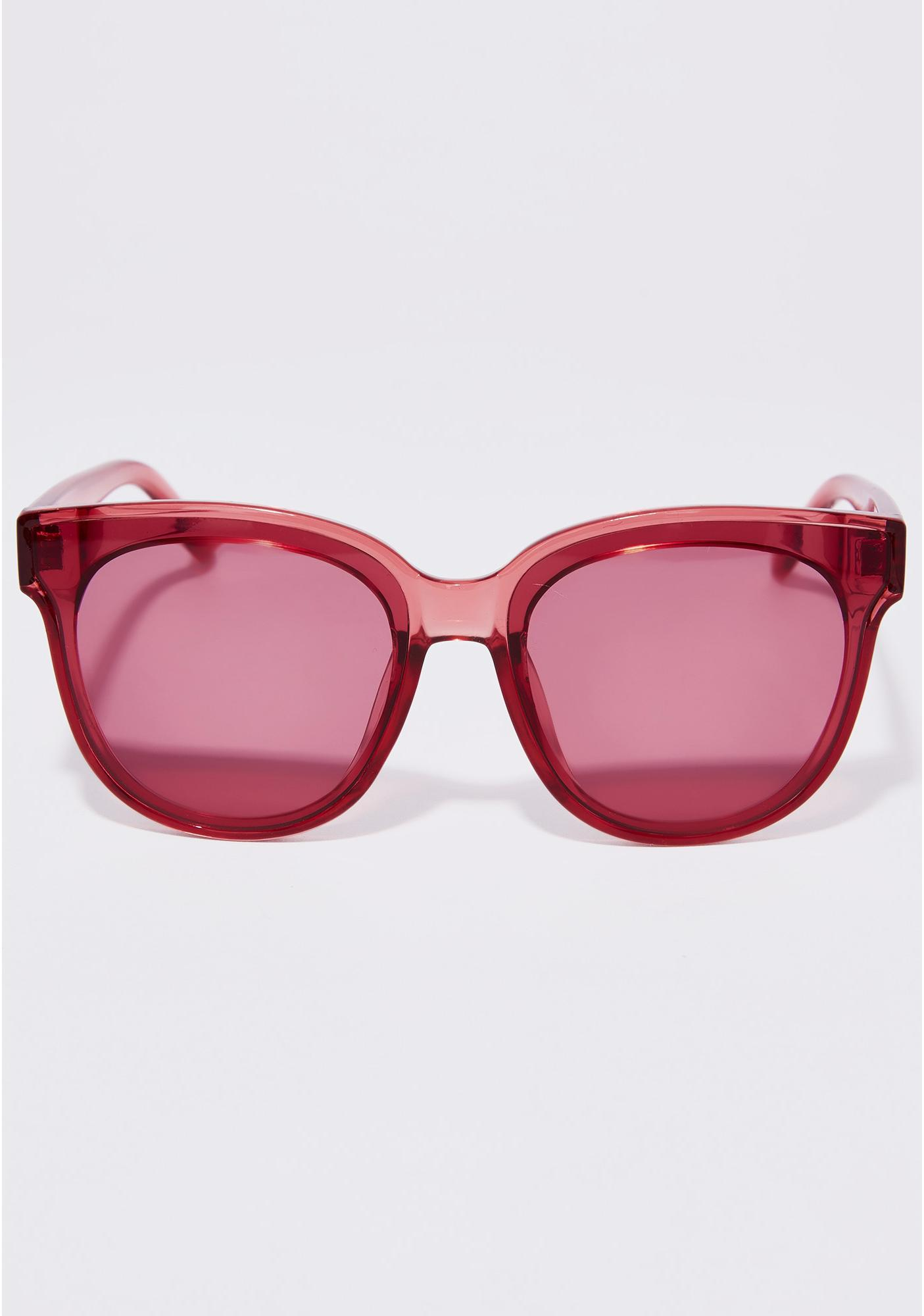 Wine Say What Cat Eye Sunglasses