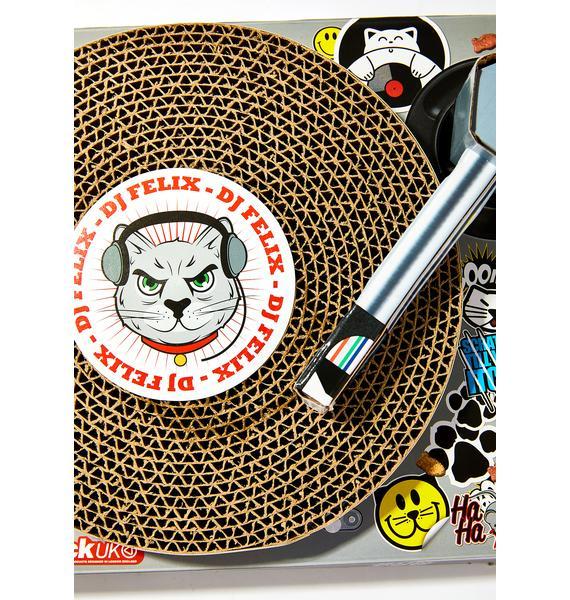 DJ Cat Scratch Pad