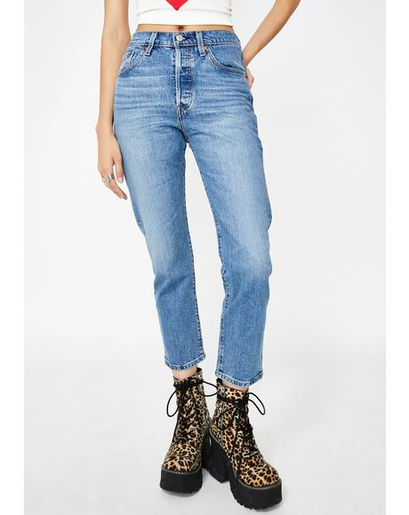 Jive Song 501 Crop Jeans