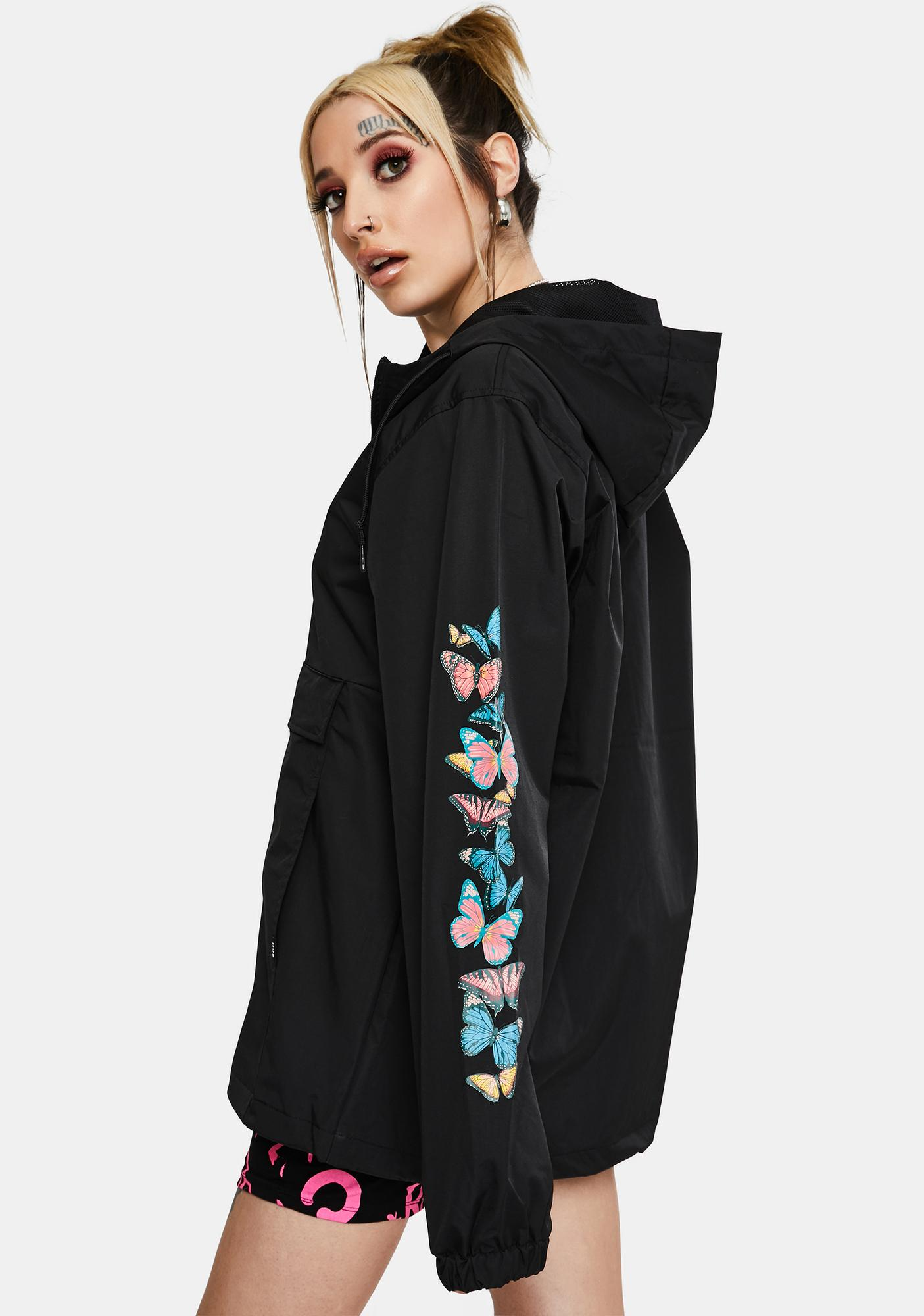 HUF Monarch Anorak Jacket