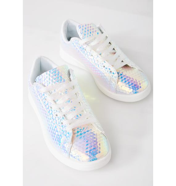 Cotton Candy Busy Signals Sneakers