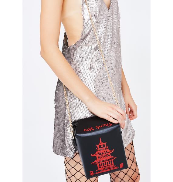 Midnight Takeaway Crossbody Bag
