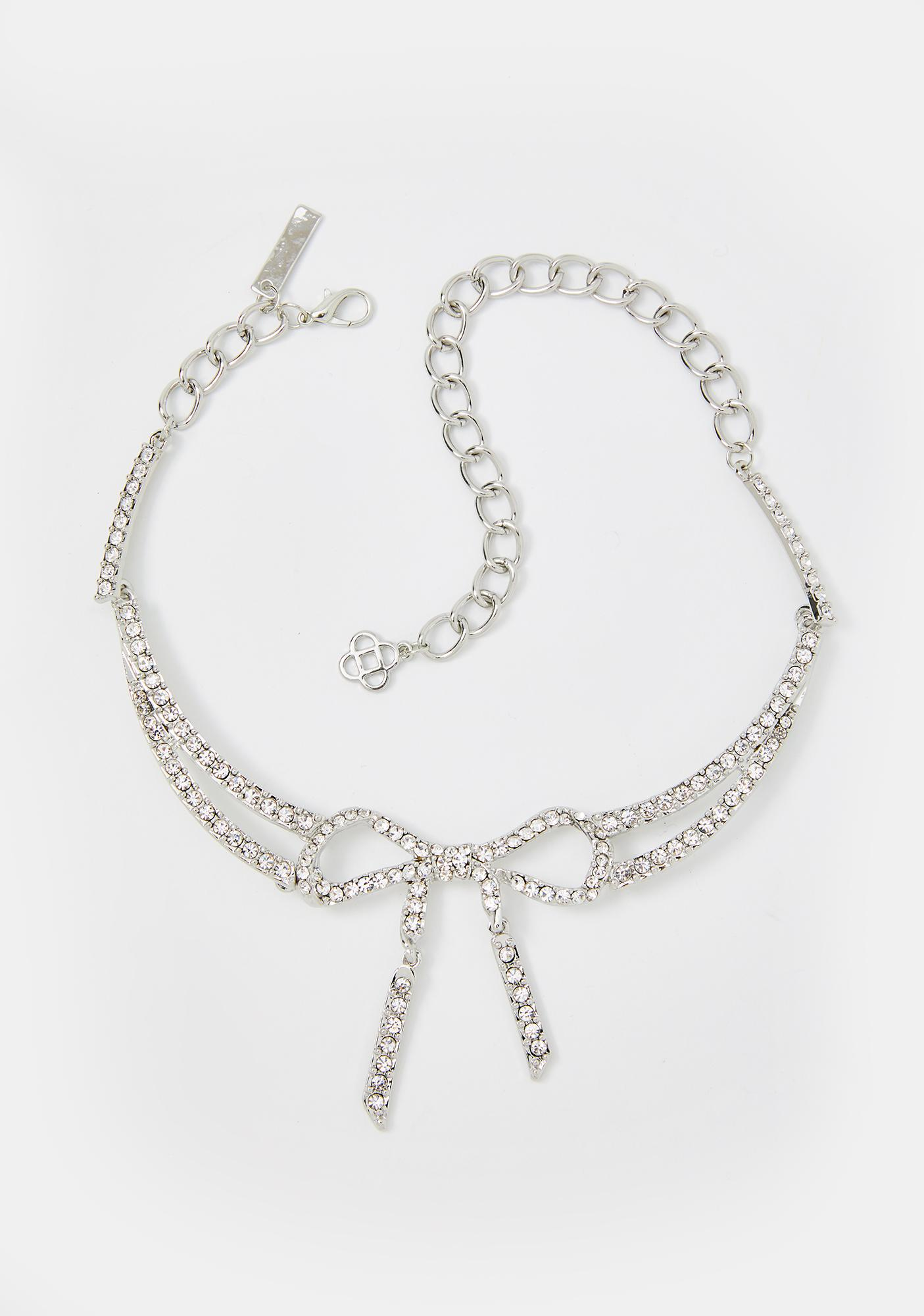 Treasure Me Rhinestone Necklace