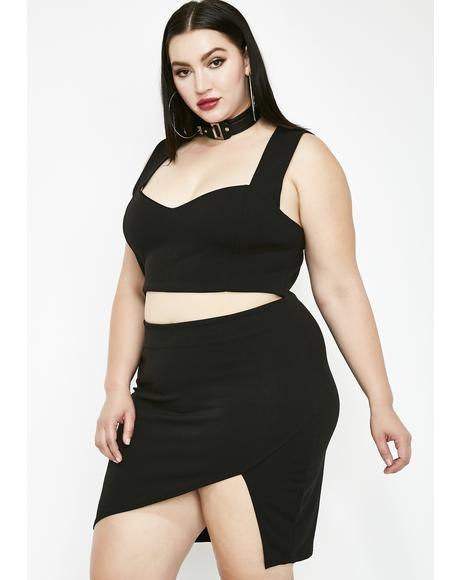 Impure Thoughts Cut Out Dress