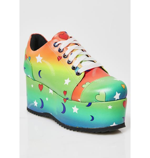 Current Mood Outta This World Platform Sneakers