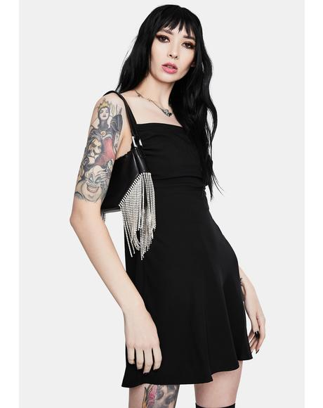Allie Solid Slip Dress