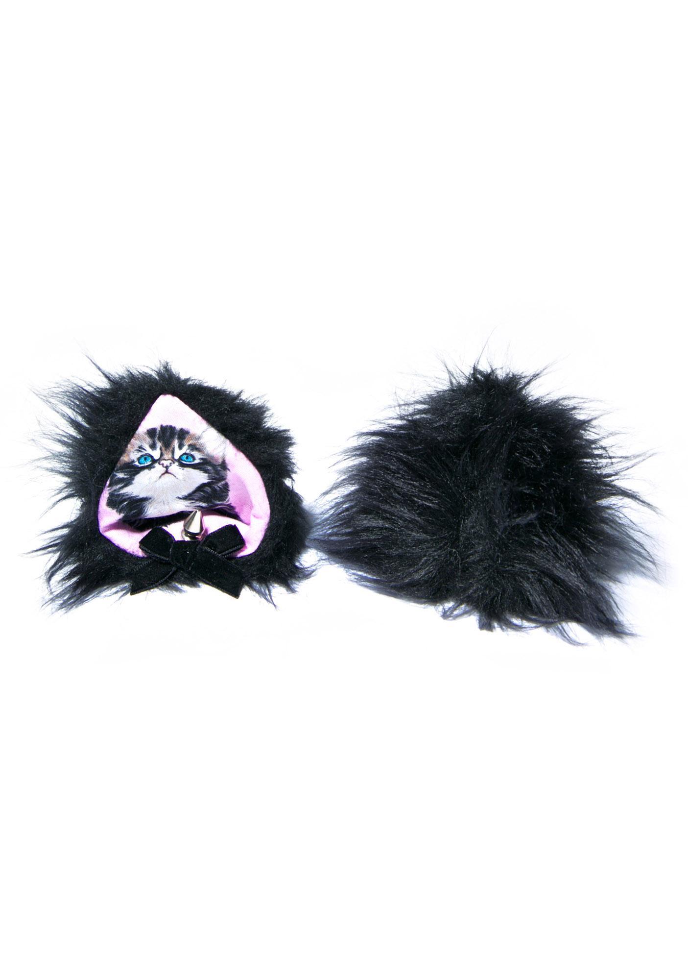 Black Kitty Ears
