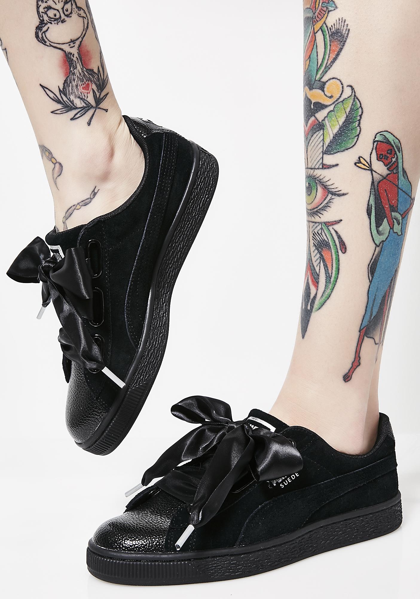 Heart Suede Bubble Bubble Sneakers Suede Sneakers Heart CxBWedro