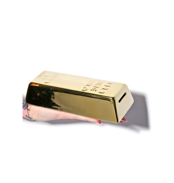The Gold Rush Coin Bank