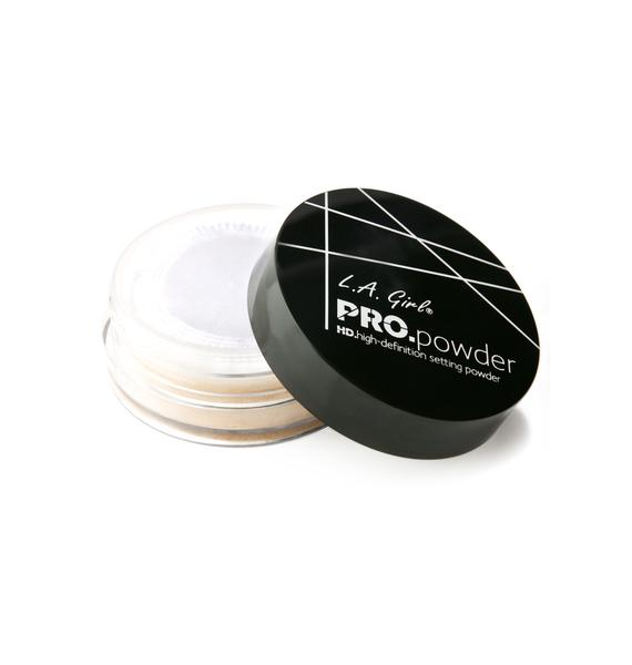 LA Girl Banana Yellow HD Pro Setting Powder