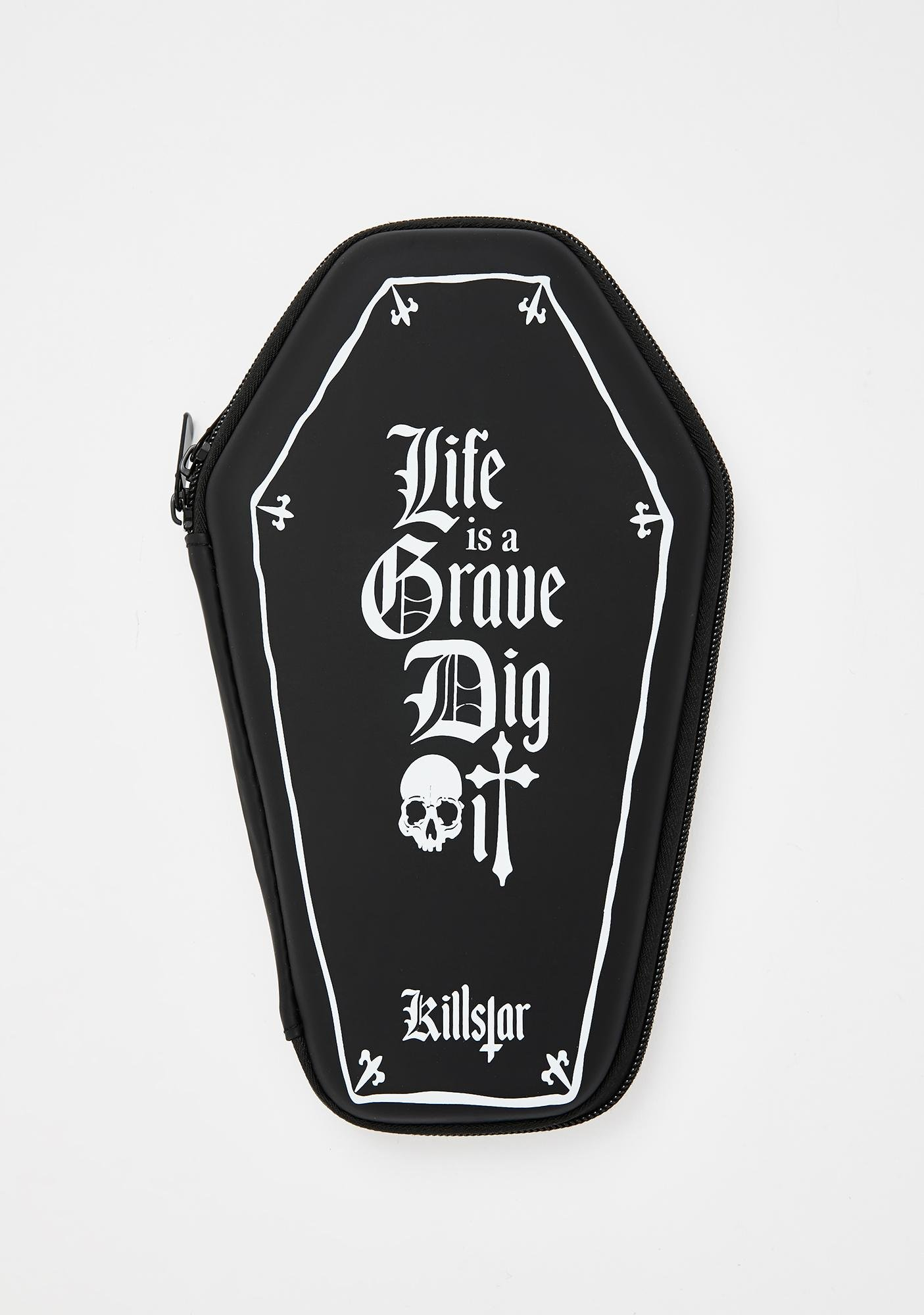 Killstar Dig It Pencil Case