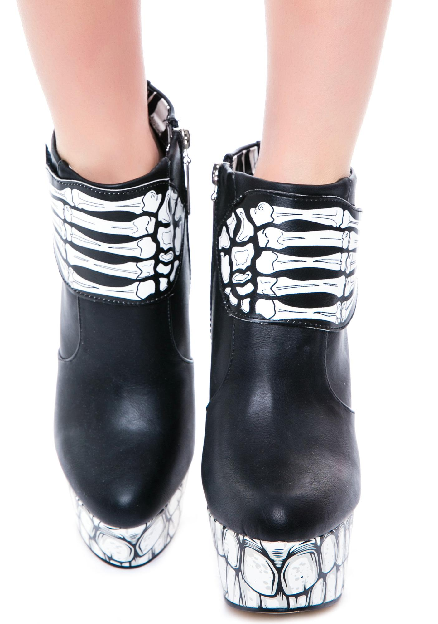Iron Fist Bone Breaker Platform Bootie