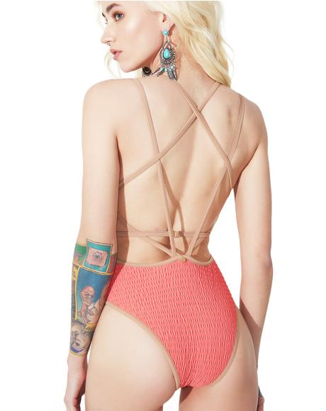 Capri Scrunchy One Piece