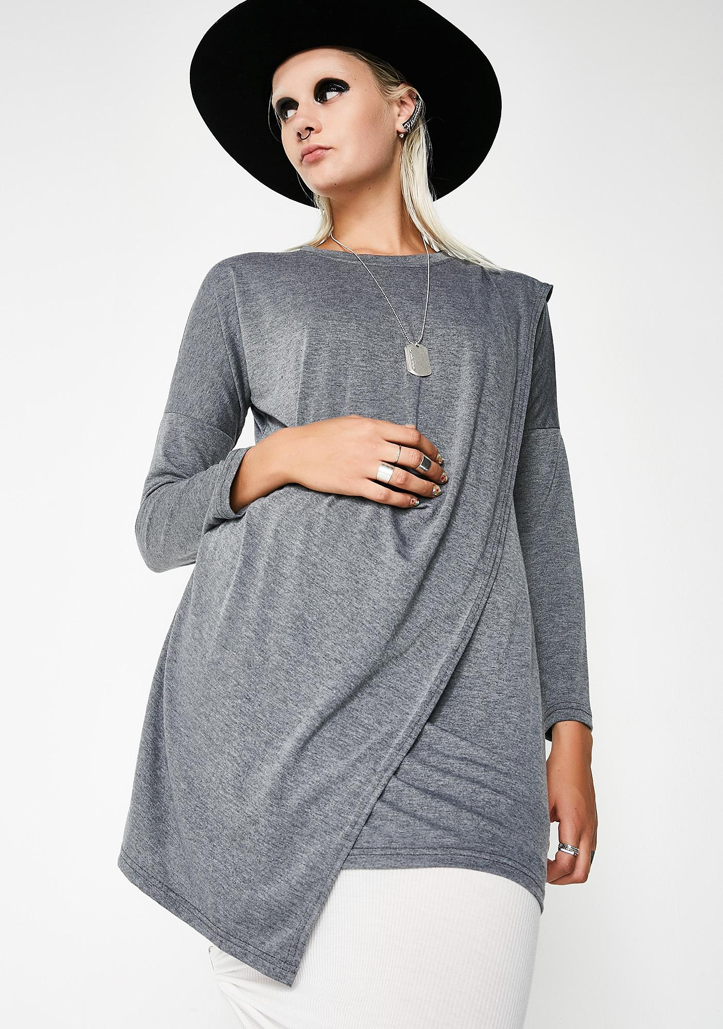 MNML Centro Long Sleeve Blouse