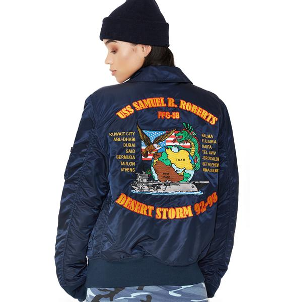 Alpha Industries Storm Cruise Flight Jacket