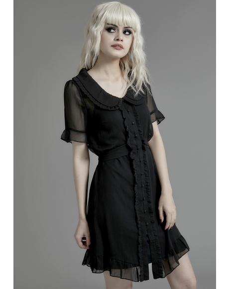 Sister Of Mercy Chiffon Dress