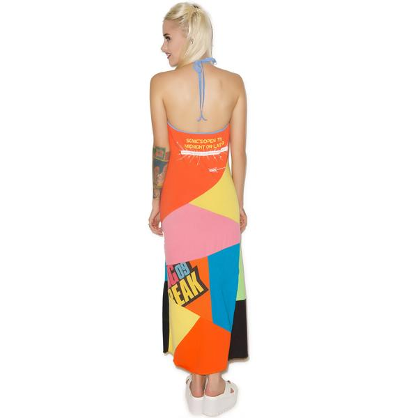 Wasted Yearz Patchwork Dress