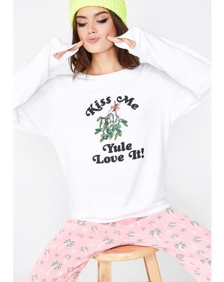 Yule Love It Baggy Beach Jumper