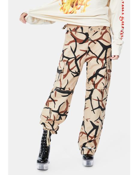 X Made Me Camo Cargo Pants
