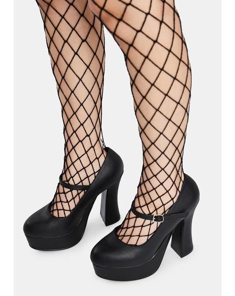 Dolly Platform Heels
