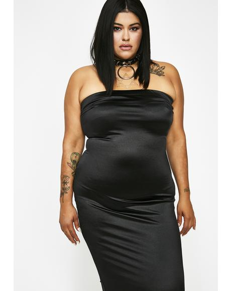 Stunna Girl Satin Dress