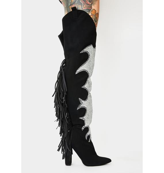 Wildin' Woman Fringe Boots