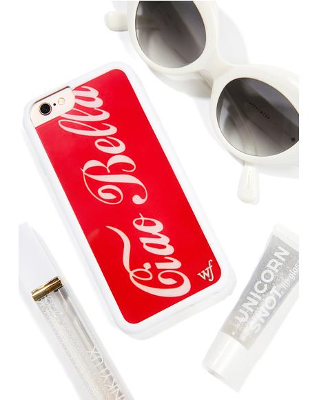 Ciao Bella iPhone Case