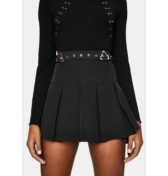 Punk Rave The Craft Pleated Mini Skirt