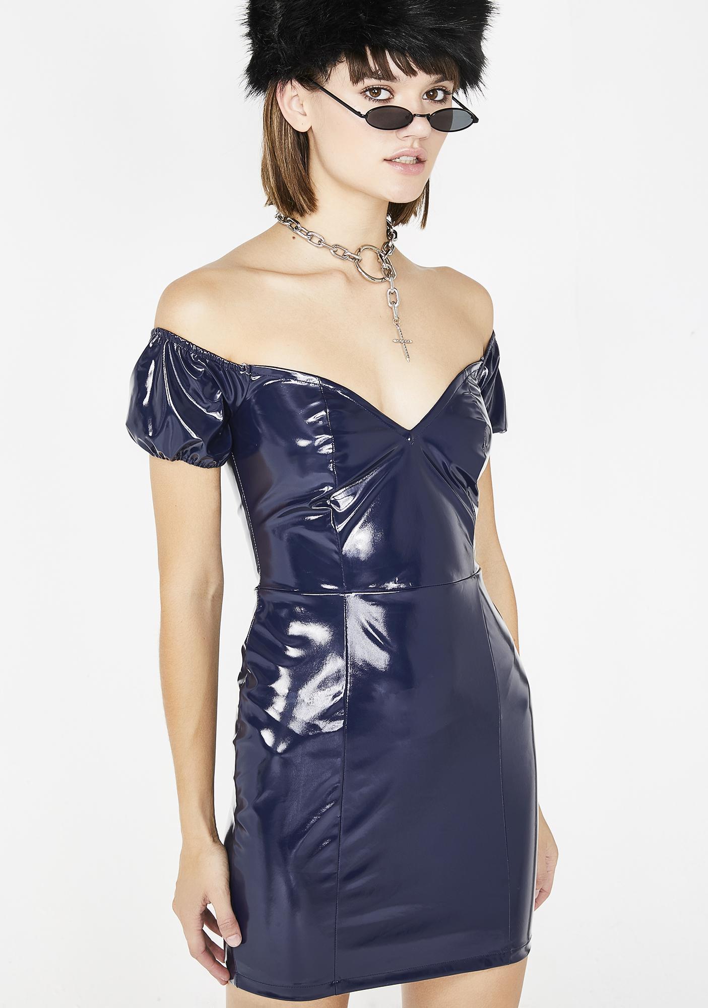 Fine China PVC Dress