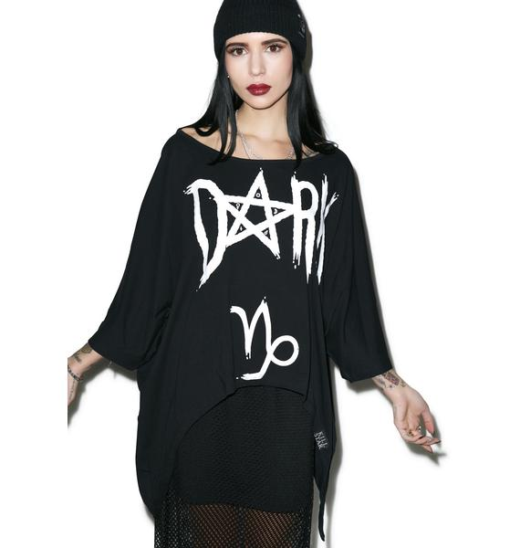 Killstar Capricorn Drape Top