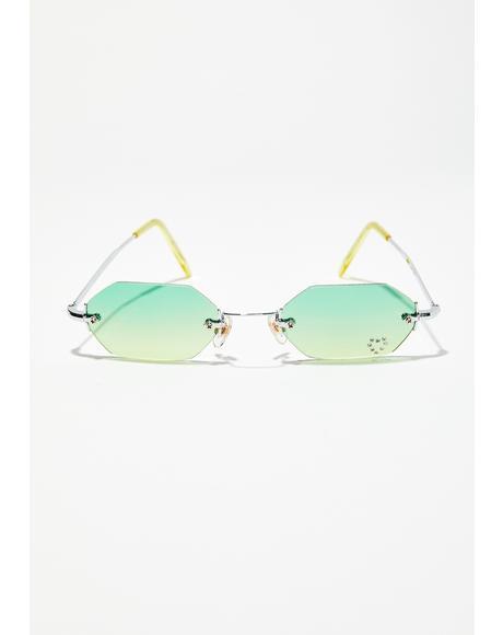 Kush 90s Comeback Octagon Sunglasses