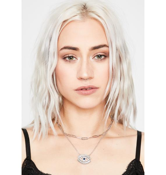 Wise Eye Pendant Necklace