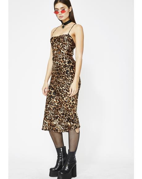 Feline Lucky Leopard Dress