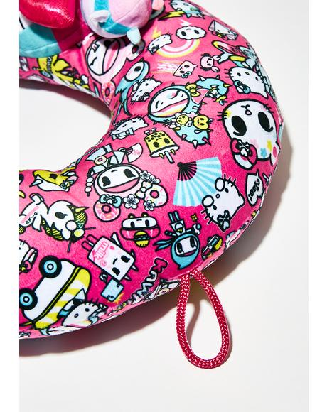 Hello Kitty Tokidoki Neck Pillow