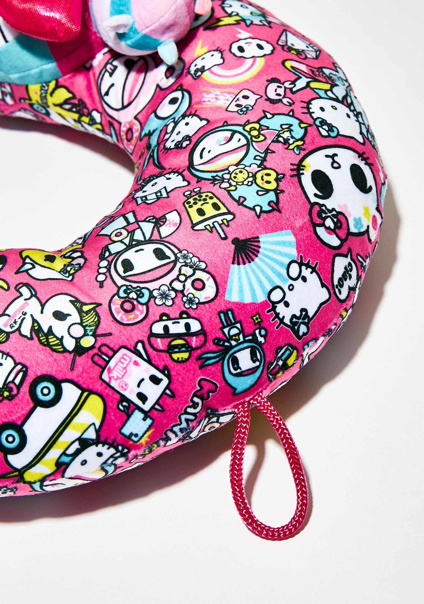 Sanrio Hello Kitty Tokidoki Neck Pillow