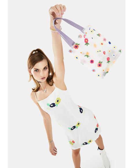 Fab Folk Floral Handbag