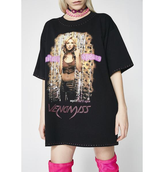 Venomiss NYC X BABEMANIA Britney Spears Oops I Did It Again Tee