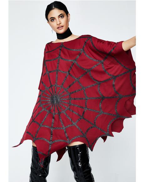 Venomous Web Poncho