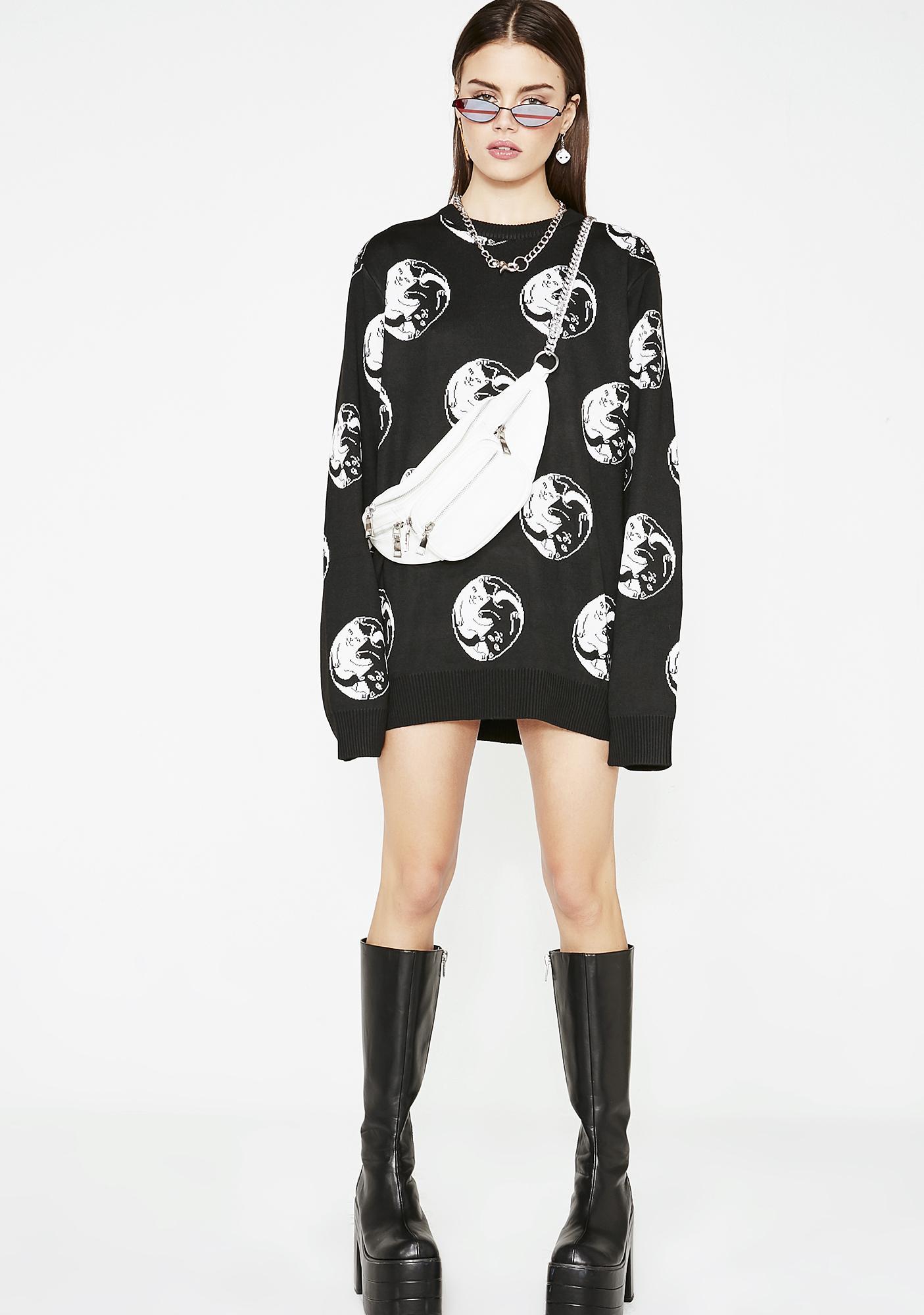 RIPNDIP Nermal Yang Knit Sweater